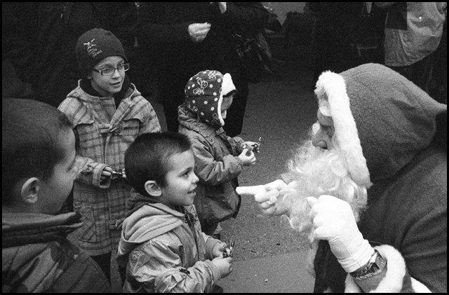 Le Père Noël est toujours à l'heure...