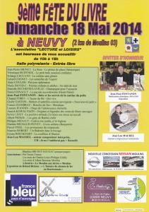 affichette salon Neuvy 2014
